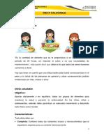 Dieta Saludable -Nutrición Infantil