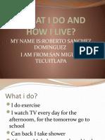 presentacion de Robertio Sanchez Dominguez