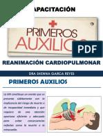 Capacitación Primeros Auxilios - Rcp- Medevac