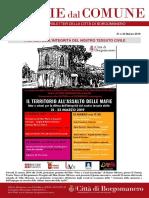 Notizie Dal Comune di Borgomanero del 21 e 22 Marzo 2019