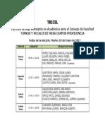 Vocales de Mesa Providencia (2)