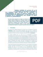 Perez Llorca Nota Informativa Clausula Penal Contrato de Arrendamiento Local de Negocio