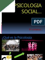Antecedentes Historicos e Historia de La Psicologia Social