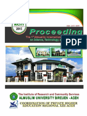 AICSTS_Life Science Chapter Proceeding pdf | Association Of