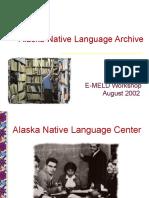 Alaska Native Language Archive Holton-emeld2002