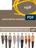 BTPN Sinya - Service Standard ( Pakaian & Penampilan )