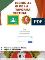 Inducción Al Uso de La Plataforma Virtual