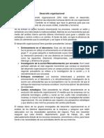 RESUMEN DESARROLLO ORGANIZACIONAL - DIRECCION.docx