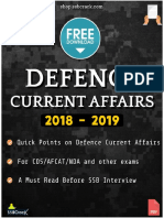 Defence Current Affairs 2019