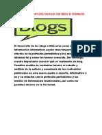 IMPORTANCIA DE LAS BITACORAS DIGITALES COMO MEDIOS DE INFORMACION.docx
