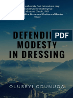 Defending Modesty in Dressing Book Sampler
