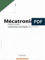 Mécatronique _ cours avec exercices corrigés-Dunod (2016).pdf