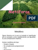TIPOS DE METAFORA