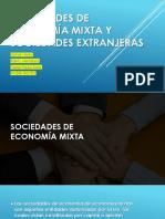 Sociedades de Economía Mixta y Sociedades Extranjeras