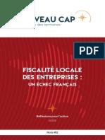 Note de Nouveau Cap - Fiscalité locale des entreprises - mars 2019
