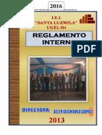 Reglamento Interno 2016 Corregido Hoy Lunes 08 de Marzo 11 Santa Luzmila