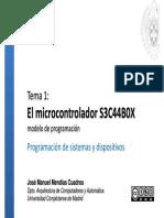 El microcontrolador S3C44B0X modelo de programación.pdf