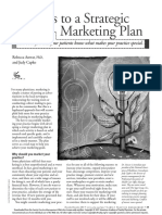 9 Steps to a Marketing Plan