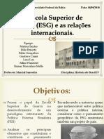 A Escola Superior de Guerra (ESG)