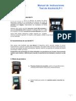 Manual Instrucciones ALP 1 Usuario