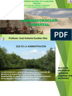 Administracion forestal