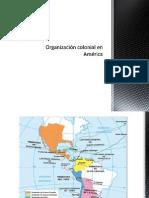 Organización colonial en América