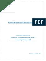 Budget économique prévisionnel 2019 (Version Fr).docx