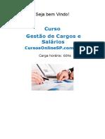 Curso Gestao de Cargos e Salarios Sp 97104