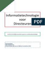 Boek_ Informatietechnologie Voor Directeuren