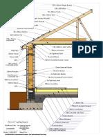 passive block foundation drawing