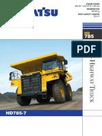KOMATSU HD785-7 RIGID DUMP TRUCKS.pdf