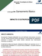 Saneamento Básico- Impactos e Eutrofização