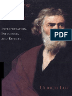 Ulrich Luz - Matthew in History. Interpretation, Influence, and Effects-Fortress Press (1994).pdf