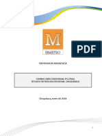 TDR Consultor DMIC DML Chuquisaca
