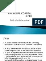 Corneal Bacterial Ulcer