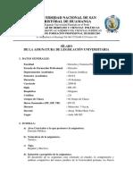 Silabo Legislación Universitaria (2019-i)