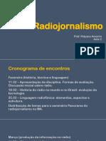 Radiojornalismo - AULA 2 - 18.02
