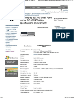 Hp Dc7700 Datasheet