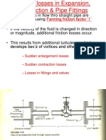 Friction Losses