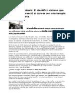Dr. Marcelo Bustamante( Como se curo de Cancer)