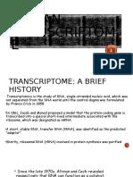 Human Transcriptome