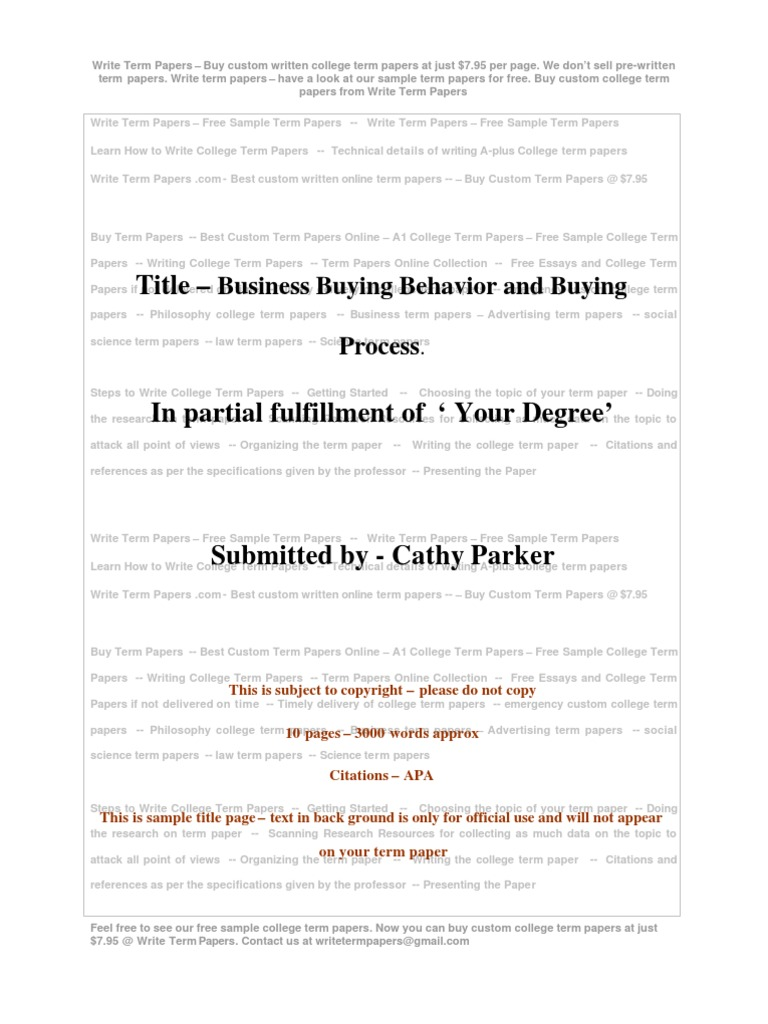 business buying behavior and buying process decision making business buying behavior and buying process decision making business