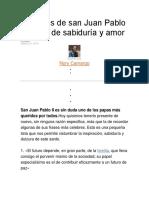 20 frases de san Juan Pablo II llenas de sabiduría y amor.docx