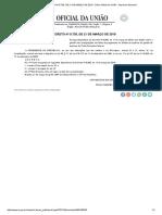 Decreto Nº 9.735, De 21 de Março de 2019