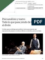 Todo Lo Que Pasa Yendo de La Butaca Al Diván - 20-03-2019 - Clarín.com
