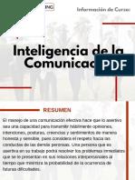Curso Inteligencia de la Comunicación