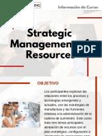 Curso Strategic Management of Resources