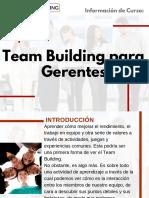 Curso Team Building para Gerentes