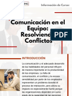 Curso Comunicación en el Equipo