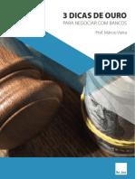 eBook - 3 Dicas de Ouro Para Negociar Com Bancos